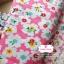 ผ้าคอตตอนไทย 100% 1/4 ม.(50x55ซม.) พื้นสีชมพู ลายดอกไม้สีขาว thumbnail 1