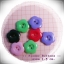 กระดุมดอกไม้ คละสี ขนาด 1.5 ซม. จำนวน 12เม็ด(1โหล) thumbnail 3
