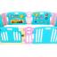 คอกกั้นเด็ก Meeso สี Aquamarine อความารีน ไซส์ M รุ่น playgame + melody thumbnail 1