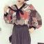 เสื้อแฟชั่นแขนยาว สไตล์สาวเกาหลี ผ้าโปร่ง นิ่ม เบาสบาย น่าสวมใส่รับหน้าร้อนเมืองไทย thumbnail 16