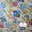 ผ้าคอตตอน 100% 1/4 ม.(50x55ซม.) พื้นสีครีม ลายนกฮูกแฟนตาซี thumbnail 1