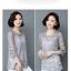 เสื้อชีฟองขาวและดำ แต่งด้วยซีทรูบางๆ ลายผ้าสวยๆ ดูมีราคาจริงๆ thumbnail 24