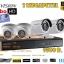ชุดติดตั้งกล้องวงจรปิด DS-2CE16D0T-IR (2ล้าน) ir20เมตร ,4ตัว (dvr4ch., สาย rg6มีไฟ 100เมตร, hdd.1TB) thumbnail 1