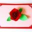 A40 การ์ด ดอกกุหลาบ Valentine thumbnail 5