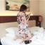 เดรสสั้นสีชมพูหวานๆ ลวดลายน่ารักๆ ขนาดกำลังดี แต่งคอเสื้อนิดๆ น่าใส่สุดๆ thumbnail 13