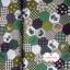 ผ้าคอตตอนไทย 100% 1/4 ม.(50x55ซม.) ลายตอ่ผ้าหกเหลี่ยม โทนสีเขียว thumbnail 2