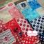 ผ้าคอตตอนลินิน 1/4ม.(50x55ซม.) ลายสมอเรือ โทนสีแดง thumbnail 4