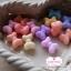 ลูกปัดโบว์คละสีพาสเทล จำนวน 6 เม็ด(1/2โหล) thumbnail 1