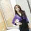เดรสแฟชั่น ตัดสีทูโทน กับสไตล์ชุดแบบสาวเกาหลี ดูเด่น มีเอกลักษณ์มากๆ ค่ะ thumbnail 5
