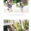 เสื้อแฟชั่นเกาหลีลายดอก พริวไหว สบายๆ สไตล์ผ้าชีฟอง thumbnail 3