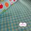 ผ้าคอตตอนลินิน 1/4ม.(50x55ซม.) ลายตารางสีฟ้า thumbnail 5