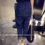 ชุดเอี้ยมยีนส์กางเกงขายาว ดีไซน์สวยๆ น่าสวมใส่ มาพร้อมเอวยางยืด thumbnail 2
