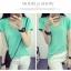 เสื้อยืดคอวีสีสันสวยๆ ใส่ได้ทุกยุค ทุกสมัยแฟชั่น มีให้เลือกสีกันอย่างจุใจ thumbnail 24
