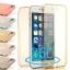 เคสไอโฟน 6Plus/6sPlus (เคสนิ่มประกบ) ป้องกัน 360 องศา สีฟ้าใส thumbnail 29