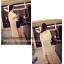 เสื้อคลุมสีขาว ผ้าชีฟองเนื้อนิ่มใส่สบายๆ แต่งชายด้วยริ้วประดับลายดอกไม้น่ารักๆ thumbnail 17
