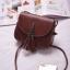 กระเป๋าหนัง สะพายข้างแฟชั่นเบาๆ สีสวย หนังเนียนๆ thumbnail 9
