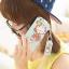 เคสไอโฟน 5/5s/SE เคสกระเป๋าลายลิงน้อย Mokyo พร้อมสายคล้องคอสีชมพู และพู่ห้อย Monkyo thumbnail 1