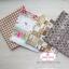 Set 4 ชิ้น : ผ้าคอตตอนไทย 3 ลาย และ ผ้าคอตตอนลินินลายตาราง โทนสีน้ำตาลอ่อน thumbnail 5