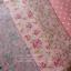 Set 4 ชิ้น : ผ้าคอตตอนไทย โทนสีชมพู 3 ลาย +ผ้าแคนวาสสีชมพู ลายจุด แต่ละชิ้นขนาด 27.5 × 50 ซม. thumbnail 1