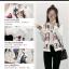 เสื้อกันหนาวคอกลม แฟชั่นมาใหม่ ทรงสวย สกรีนลายเก๋ๆ สะดุดตา thumbnail 7