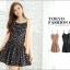 เดรสสั้นเกาหลีจาก Tokyo Fashion เด่นด้วยลายดาวและแอบ sexy ด้วยสายเดี่ยว เหมาะสำหรับสาวมั่นที่อยากอวดผิวขาว thumbnail 1