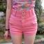 กางเกงยีนส์ขาสั้น โดเด่นกว่าใครด้วยสีสัน แล้ทรงเอวสูง พิเศษขึ้นไปอีกด้วยออกแบบหูร้อยเข็มขัดที่มีขนาดใหญ่ thumbnail 2