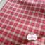 ผ้าทอญี่ปุ่น 1/4ม.(50x55ซม.) ลายตารางโทนสีแดง thumbnail 1