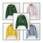 เสื้อกันหนาวสีพื้น สวยสดใส ทรงตามสมัยนิยม เรียบง่าย ใส่ได้ตลอด thumbnail 1