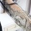 เดรสสั้นแขนยาว สวยหรู กับแฟชั่นเรียบหรู แขนเสื้อแบบซีทรู ตกแต่งด้วยลูกไม้สีทอง thumbnail 12