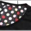 เสื้อยืดแฟชั่นเกาหลี สีพื้นตัดกับลายจุดด้านหลังของตัวเสื้อ กระเป๋าด้านหน้า thumbnail 12
