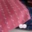 ผ้าทอญี่ปุ่น 1/4ม.(50x55ซม.) สีแดงกล่ำ ทอลายเครืองหมายบวกเล็กๆ thumbnail 1
