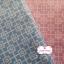 ผ้าคอตตอนไทย 100% 1/4 ม.(50x55ซม.) พื้นสีฟ้า แต่งลายดอกไม้สีขาว thumbnail 3