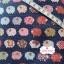 ผ้าคอตตอนลินิน 1/4ม.(50x55ซม.) พื้นสีน้ำเงิน ลายแกะน้อย thumbnail 2