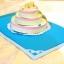 A04 การ์ดป๊อปอัพ Special Cake ใบเตย thumbnail 1
