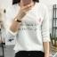 เสื้อยืดคอกลมแฟชั่น สกรีนลายน่ารักๆ ดูสวย สมวัยใส่ได้ทุกวัน thumbnail 2