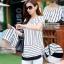 เสื้อขาว-ดำแฟชั่น ดีไซน์ทรงยาว มีให้เลือกทั้งแบบแขนสั้นและแขน 5 ส่วน thumbnail 4