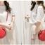 กระเป๋าสะพายสำหรับผู้หญิง ทรงกลมขนาดกำลังดี ปักลูกเชอรี่สวยๆ thumbnail 15