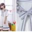 เดรสแฟชั่นชุดกลาสี สไตล์สาวญี่ปุ่น แต่งปกเสื้อ น่ารักสมวัยใสๆ thumbnail 21