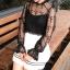 เสื้อแขนยาวแฟชั่น เด่นด้วยลูกไม้แบบซีทรู ให้สาวๆ ได้โชว์ผิวขาวอวดทุกสายตา thumbnail 22