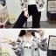เสื้อกันหนาวแฟชั่น คอกลม ขนาดกำลังดี สกรีนลายสวยๆ น่าใส่มากค่ะ thumbnail 14