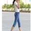 กางเกงยีนส์แฟชั่น ขาแบบ 3 ส่วน เข้ารูปแต่งลายเก๋ๆ กับราคาน่าใส่ thumbnail 13