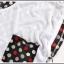 เสื้อยืดแฟชั่นเกาหลี สีพื้นตัดกับลายจุดด้านหลังของตัวเสื้อ กระเป๋าด้านหน้า thumbnail 5
