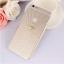 เคสไอโฟน 6 Plus / 6s Plus (TPU case หักบิดงอได้) สีขาวใส ประดับเพชรเรียบหรู thumbnail 1