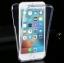 เคสไอโฟน 6Plus/6sPlus (เคสนิ่มประกบ) ป้องกัน 360 องศา สีฟ้าใส thumbnail 30