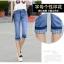 กางเกงยีนส์แฟชั่น ขาแบบ 3 ส่วน เข้ารูปแต่งลายเก๋ๆ กับราคาน่าใส่ thumbnail 28