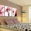 ภาพแต่งห้องสวยๆ ดอกชบา X-ray 1ชุดได้ 3ภาพ Art-XF thumbnail 2