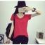 เสื้อยืดคอวีสีสันสวยๆ ใส่ได้ทุกยุค ทุกสมัยแฟชั่น มีให้เลือกสีกันอย่างจุใจ thumbnail 15
