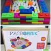 DIY BLOCK บล๊อกตัวต่อ ตัวต่อยักษ์ Macrobrik (60 pcs.) in box big block **ไม่รวมลูกบอล