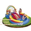 "สวนน้ำ Intex Rainbow Ring Inflatable Play Center, 117"" X 76"" X 53"""