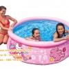 ( ขนาด 6 ฟุต ) สระน้ำเป่าลม อีซี่เซ็ต 6 ฟุต (183 ซม.) Hello Kitty